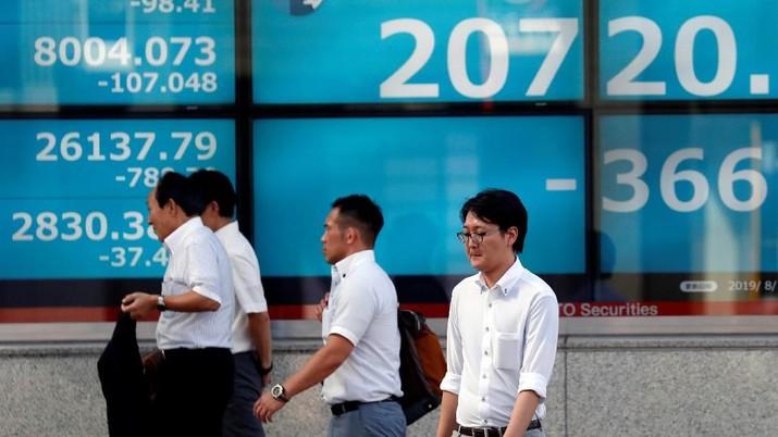 Bursa saham utama kawasan Asia kompak melaju di zona hijau pada perdagangan hari ini.