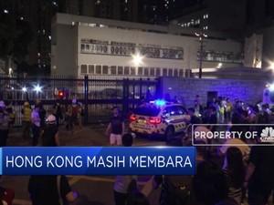 Hong Kong Lumpuh Imbas Mogok 14 Ribu Pekerja