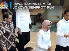 Ini Momen Jokowi 'Semprot' Direksi PLN Soal Pemadaman Listrik