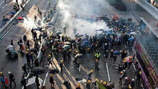 Pedemo Duduki Bandara, Hong Kong Batalkan Seluruh Penerbangan