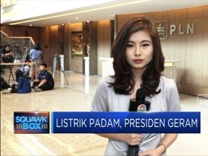 Presiden Tegur PLN Akibat Pemadaman Listrik Massal
