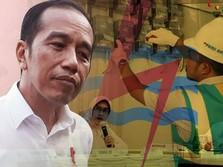 Wajar Lah Mimik Muka Jokowi Mesem Kala Listrik di Jawa Padam