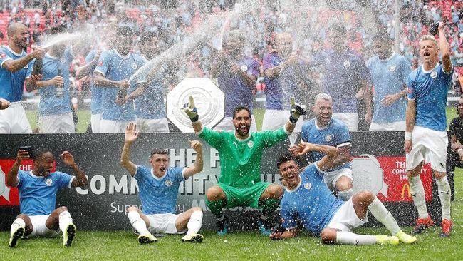 Fakta Kemenangan Man City atas Liverpool di Community Shield