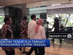 Jokowi Nilai PLN Tak Belajar dari Sejarah