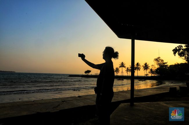 830+ pemandangan pantai carita HD