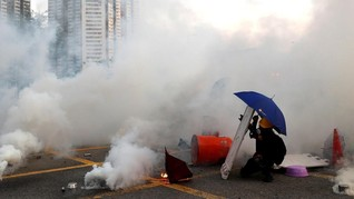 Demo Rusuh Hong Kong, 148 Pengunjuk Rasa Ditangkap