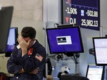 Sinyal Resesi Menguat Lagi, Wall Street Kembali Anjlok