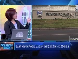 E-commerce Dorong Bisnis Gudang MMLP