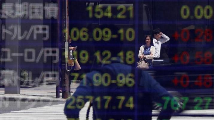 Seluruh bursa saham utama kawasan Asia kompak menutup perdagangan keempat di pekan ini, Kamis (21/11/2019), di zona merah.