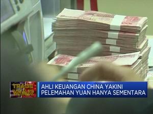 China Bantah Sengaja 'Lemahkan' Yuan