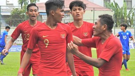 Babak I: Timnas Indonesia U-18 Unggul 3-0 atas Timor Leste
