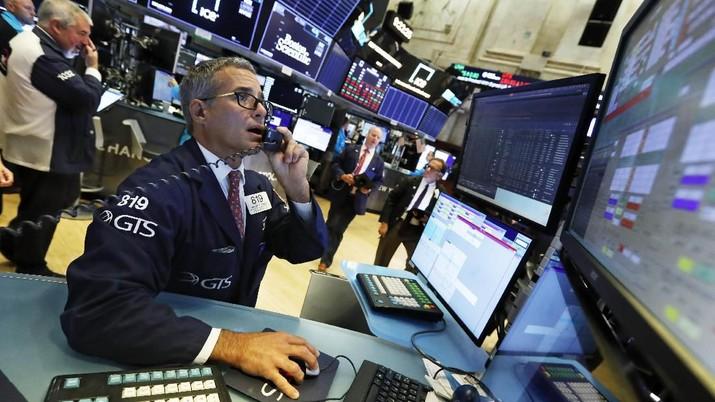 Wall Street akan dibuka melemah pada perdagangan pertama di pekan ini ini, Senin (7/10/2019).