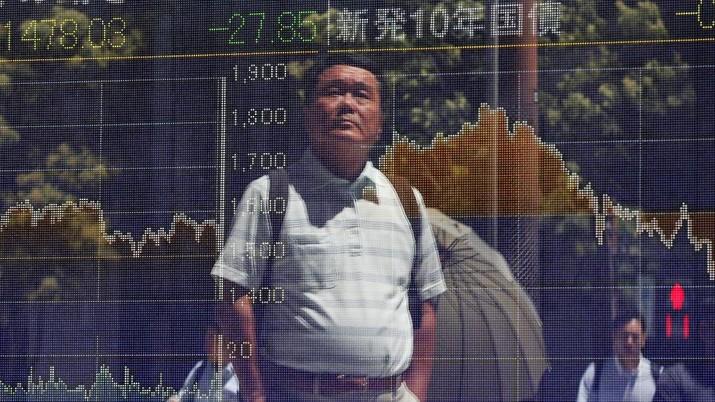 Bursa saham Tokyo dibuka hampir tak berubah pada perdagangan hari Kamis (29/8/19)