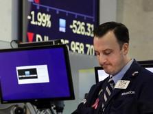AS- China Rujuk Halus, Wall Street Ditutup Naik Tipis