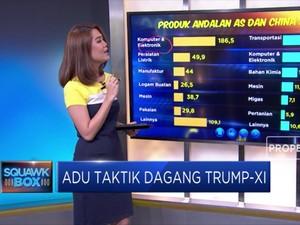 Adu Taktik Dagang Trump-Xi