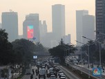 Penampakan Jakarta Berkabut Polusi, Sudah Mirip Beijing?