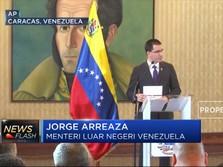 Trump Bekukan Aset Venezuela di AS, Maduro Berang