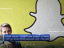 Snapchat Mencari Dana USD 1 Miliar