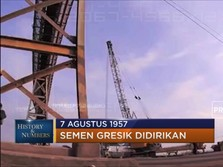 7 Agustus 1957 Semen Gresik Didirikan