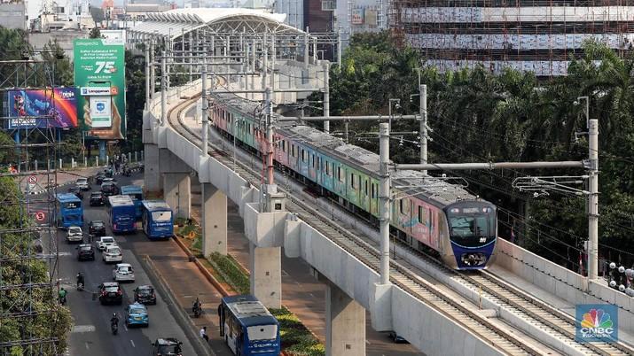 MRT rute Lebak Bulus akan diperpanjang sampai Pondok Cabe-Rawa Buntu Serpong.
