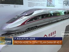 Proyek Kereta Cepat Telan Dana Rp 40 T