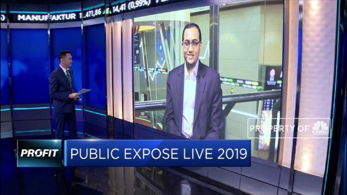 Public Expose Live 2019 merupakan Public Expose yang disiarkan secara langsung (live) melalui fasilitas webinar.