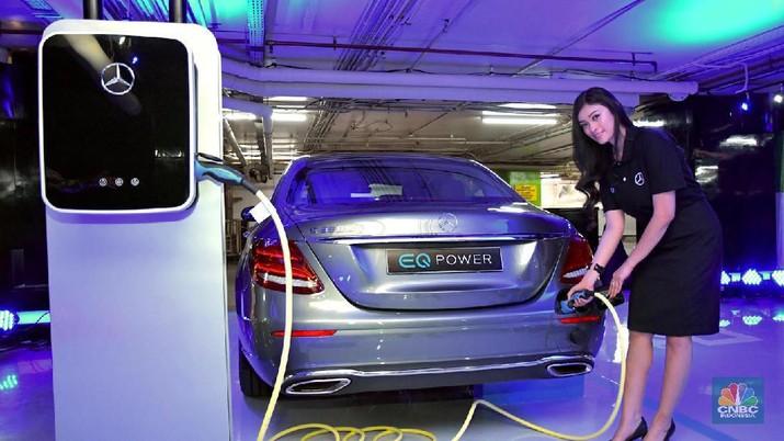 Kementerian ESDM menegaskan pasokan daya listrik untuk program kendaraan listrik cukup.