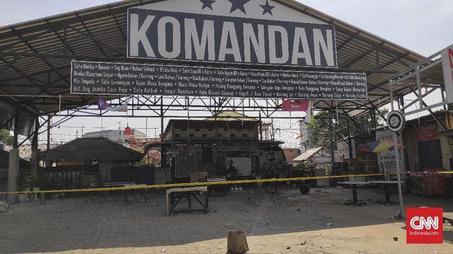 Lima Tersangka Penyerang Kafe Nobar PSM di Jakarta Ditahan