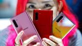 Samsung akan membanderol ponsel ini mulai dari Rp13,5 juta untuk tipe Galaxy Note 10 LTE dan Rp15,6 juta untuk Galaxy Note 10 Plus LTE. (REUTERS/Eduardo Munoz)