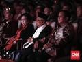 Saat Prabowo Duduk di Kursi VVIP Dekat Jokowi dan Megawati