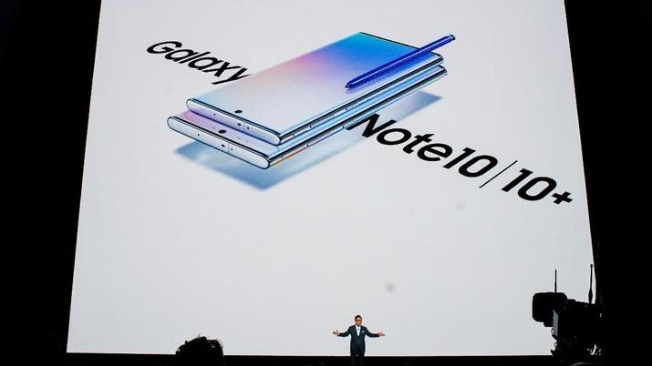 Samsung resmi merilis secara global dua smartphone seri Note yakni Galaxy Note 10 dan Galaxy Note 10+ yang diperkenalkan secara bersamaan.