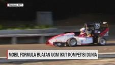 VIDEO: Mobil Formula Buatan UGM Ikut Kompetisi Dunia