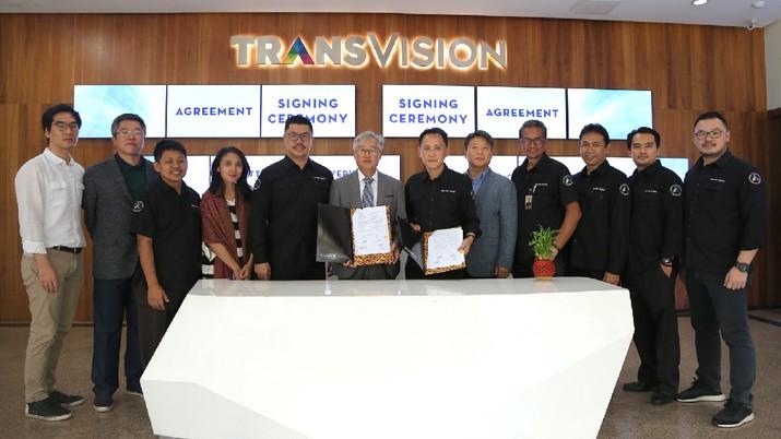 Hal itu ditandai dengan penandatanganan kerja sama yang dilakukan pada Rabu (7/8/2019) dan disaksikan langsung Chairul Tanjung selaku Chairman CT Corp.