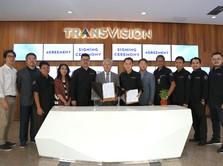 Gandeng TVSTORM, Transvision Hadirkan Dekoder OTT