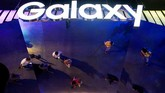 Samsung secara resmi mengumumkan kehadiran Galaxy Note 10 dan Note 10+ pada Kamis (7/8) di New York, Amerika Serikat. (Bryan Bedder/Getty Images for Samsung/AFP)