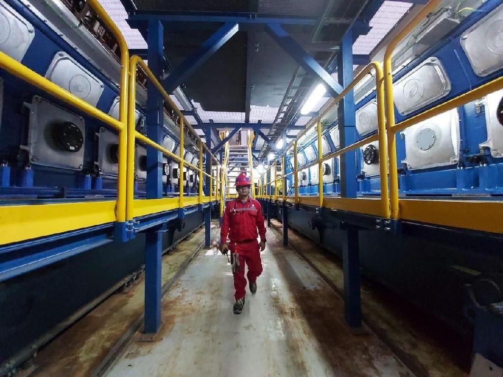 PLTD Senayan juga untuk memperkuat backup kelistrikan MRT Jakarta. Istimewa/PLN.