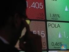 Diterpa Aksi Jual Investor Asing, IHSG Melemah 0,17%