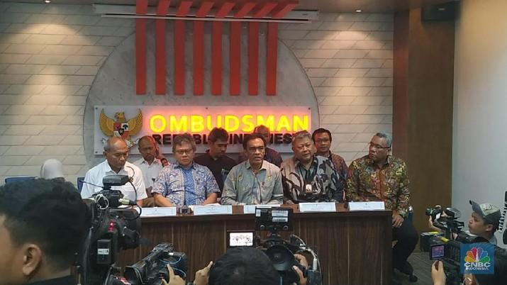 Ombudsman RI mengundang para pihak yang terkait dengan listrik padam massal  (CNBC Indonesia/Rahajeng Kusumo Hastuti)