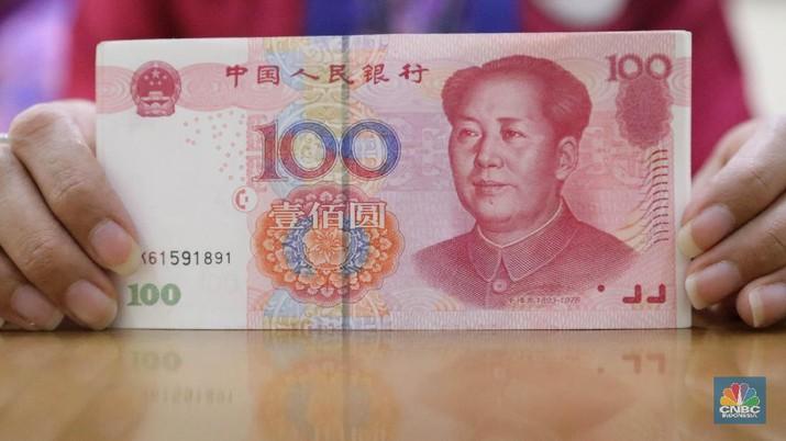 Ilustrasi Yuan (CNBC Indonesia/Muhammad Sabki)