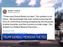 Trump Sebut Kebijakan the Fed
