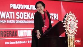 Gestur Luwes Pidato Megawati dan Pesan Superioritas PDIP