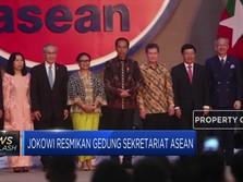Jokowi Resmikan Gedung Sekretariat ASEAN