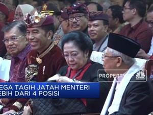 Saat Kubu Banteng Tagih Jatah Menteri ke Jokowi