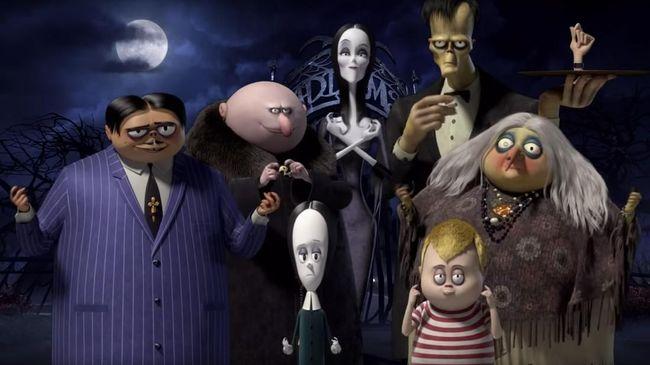 'The Addams Family' Hadapi 'Teror' Keceriaan di Film Terbaru