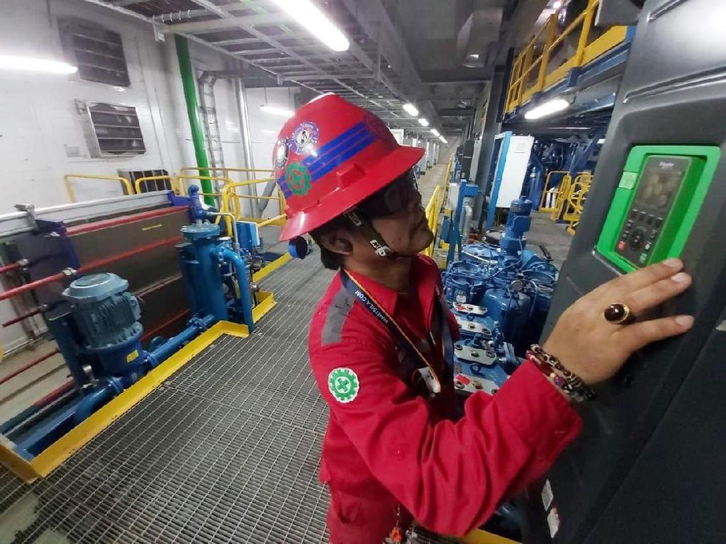 Proyek pembangunan Pembangkit Listrik Tenaga Diesel Senayan 101 MW sudah mencapai 94%. Istimewa/PLN.