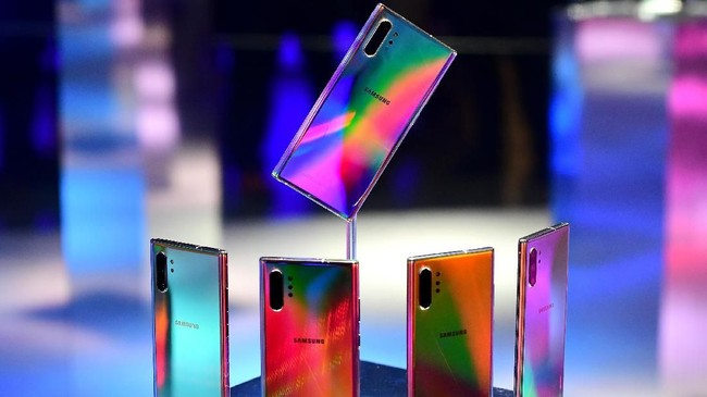 FOTO: Mengintip Fitur Baru Samsung Galaxy Note 10