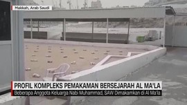 VIDEO: Menengok Kompleks Pemakaman Mbah Moen di Mekah