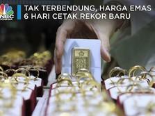 Tak Terbendung, Harga Emas 6 Hari Cetak Rekor Baru