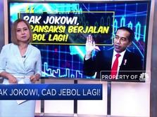 Pak Jokowi, CAD Jebol Lagi!