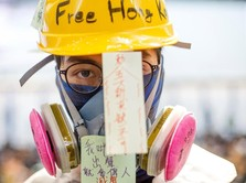 Demo Terus, Pendemo Hong Kong Minta Maaf